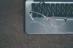 Computer screens cause eye strain that can damage your eyes to the point that you need glasses